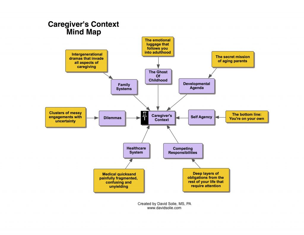 Caregiver's Context: The Big Picture