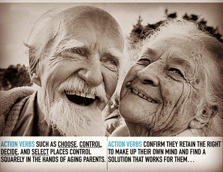 Send Contol-Friendly Signals to Aging Parents